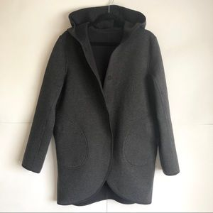 HLululemon Reversible City Bound Wrap Hood Jacket
